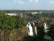 iguassu πτώσεων της Βραζιλίας Στοκ εικόνες με δικαίωμα ελεύθερης χρήσης