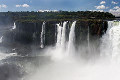 iguassu πτώσεων φαραγγιών της Αρ&ga στοκ εικόνες με δικαίωμα ελεύθερης χρήσης
