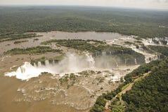 Iguassu baja visión aérea fotografía de archivo