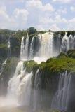 Iguassu cai em Argentina Fotografia de Stock