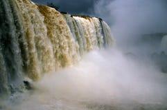Iguassu cai no inverno Fotos de Stock Royalty Free
