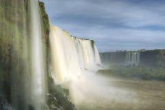 Iguassu faller nationalparken Arkivbild
