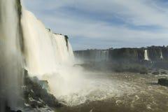 Iguassu faller nationalparken Arkivfoto