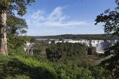 Iguassu faller nationalparken Arkivfoton