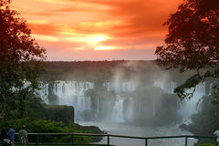 Iguassu falls Royalty Free Stock Photography