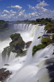Iguassu Falls is the largest series of waterfalls on the planet Stock Photography