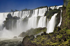 Iguassu Falls is the largest series of waterfalls on the planet Royalty Free Stock Images