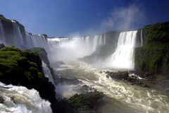iguassu falls in brazil Royalty Free Stock Image