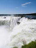Iguassu falls, Brazil. Stock Image