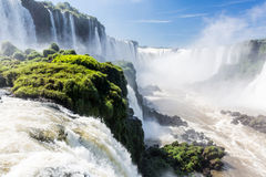 Iguassu Falls Brazil Side Royalty Free Stock Photo