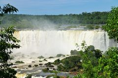 Iguassu falls, Brazil Stock Photography