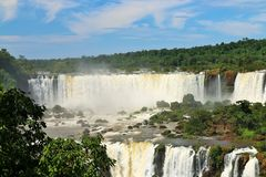 Iguassu falls, Brazil Royalty Free Stock Photo