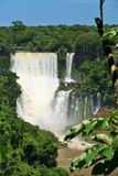Iguassu falls, Brazil Royalty Free Stock Images