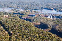 Iguassu Falls Canyon Argentina and Brazil Royalty Free Stock Images