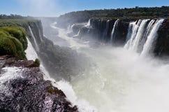 Iguassu Falls Canyon Argentina and Brazil Stock Images