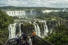 Iguassu Falls - Iguassu National Park Stock Photography