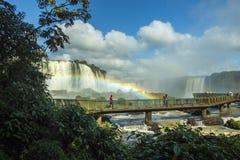 Iguassu Falls - Iguassu National Park Royalty Free Stock Photography
