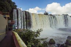 Iguassu Falls - Iguassu National Park Stock Photo
