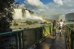 Iguassu Falls - Iguassu National Park Royalty Free Stock Photos