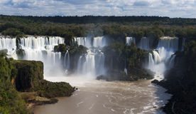 Iguassu Falls Stock Photography