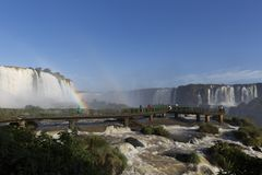 Iguassu Falls National Park. royalty free stock images