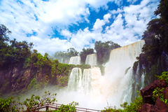 Iguassu falls Royalty Free Stock Photography