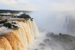 Iguassu falls Stock Photography