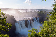 Iguassu Falls, waterfalls Stock Image