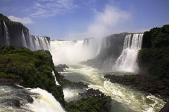 Iguassu (Iguazu ; Automne d'Iguaçu) Image stock
