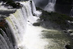 Iguassu (Iguazu; Iguaçu) Falls - Large Waterfalls Stock Photography