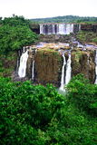 Iguassu (Iguazu; Igua�u) Falls - Large Waterfalls Royalty Free Stock Images