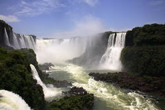 Iguassu (Iguazu; Iguaçu) Falls - Large Waterfalls Stock Photos