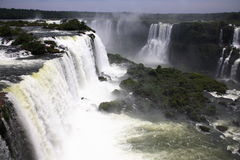 Iguassu (Iguazu; Iguaçu) Falls - Large Waterfalls Royalty Free Stock Images