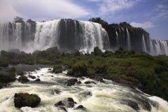 Iguassu (Iguazu; Iguaçu) Falls - Large Waterfalls Stock Photos