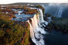 Iguassu nedgångar Royaltyfri Fotografi