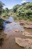 Iguassu River Argentina and Brazil Stock Images
