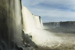 Iguassu Spada park narodowy fotografia royalty free