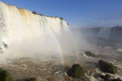 Iguassu Spada park narodowy zdjęcie royalty free
