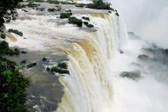 Iguassu vattenfall Fotografering för Bildbyråer