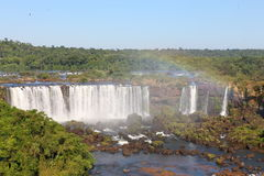 Iguassu waterfalls Stock Photos
