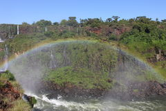 Iguassu waterfalls Royalty Free Stock Photos