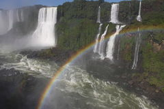 Iguassu waterfalls Stock Photography