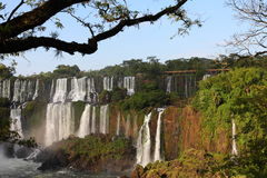 Iguassu waterfalls Stock Photo