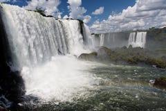 Iguassu Waterfalls Aegentina Brazil Stock Photos