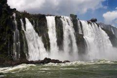 Iguassu Waterfalls Argentina Brazil Royalty Free Stock Photography
