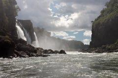 Iguassu Waterfalls Argentina Brazil Royalty Free Stock Images