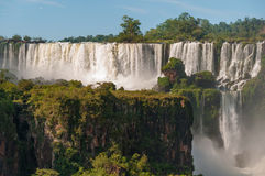Iguassu waterfalls  Argentina Brazil Royalty Free Stock Photography