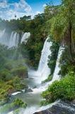 Iguassu waterfalls Argentina Brazil Stock Image