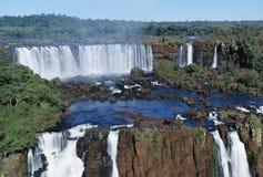 Iguasu falls royalty free stock images