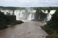 Iguasu Wasserfälle UNESCO-Welterbe Stockfoto